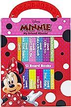 Disney - My Friend Minnie Mouse - My First Library 12 Board Book Block Set - PI Kids