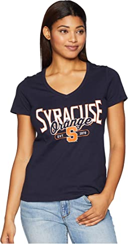 Syracuse Orange University V-Neck Tee