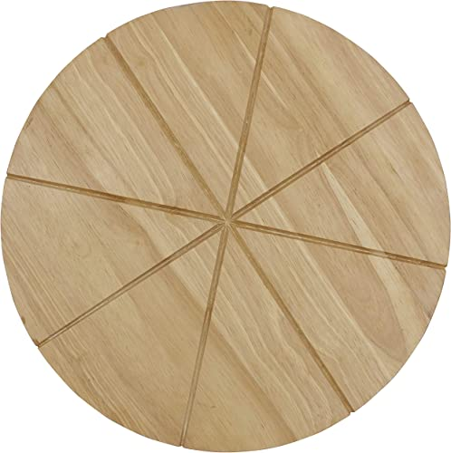 Checkered-Chef-Pizza-Cutting-Board-Round-13.5inch-Wooden-Chopping-Board
