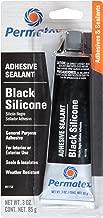 silicone rubber black