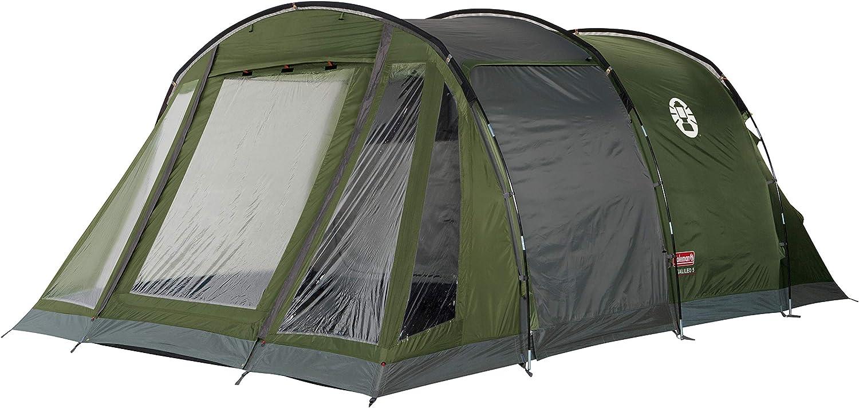 Coleman Zelt Galileo 4 5, 4 5 Mann Zelt, 4 5 Personen Tunnelzelt, Campingzelt, Familienzelt mit Vorzelt, wasserdicht WS 3.000mm