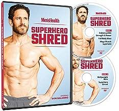 Men's Health Superhero Shred Starring Don Saladino - 2 DVDs