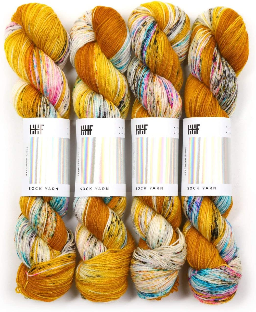 Hedgehog Fibres Our shop OFFers the Limited time cheap sale best service Sock Fool's Yarn Gold