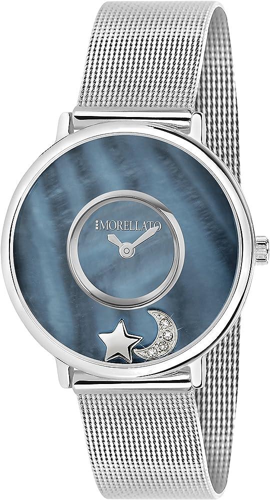 Morellato, orologio analogico al quarzo per donna,  in acciaio inossidabile R0153150506