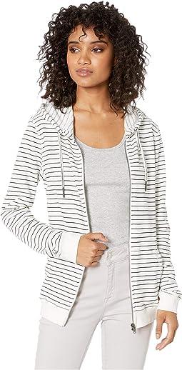 Trippin Stripes Zip Hoodie