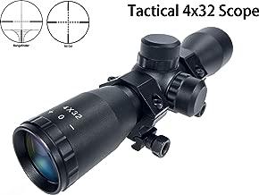 Shooney's Compact 4x32 Tactical Rilfe Scope .223 .308 Mildot Rangefinder Reticle 19CM