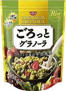 nissin premium granola matcha