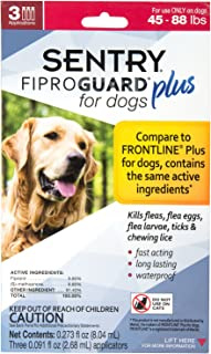 Sentry Fiproguard Plus for Dogs, Squeeze-On