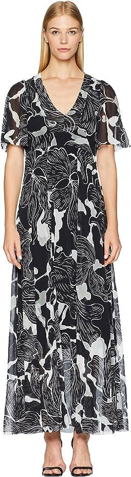 Flower Deco Gown