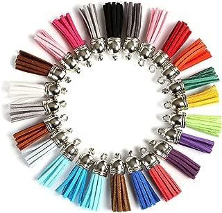 mehrfarbig Tasche Deko Schmuck Kostüm Basteln 12 Stück Quasten Troddeln