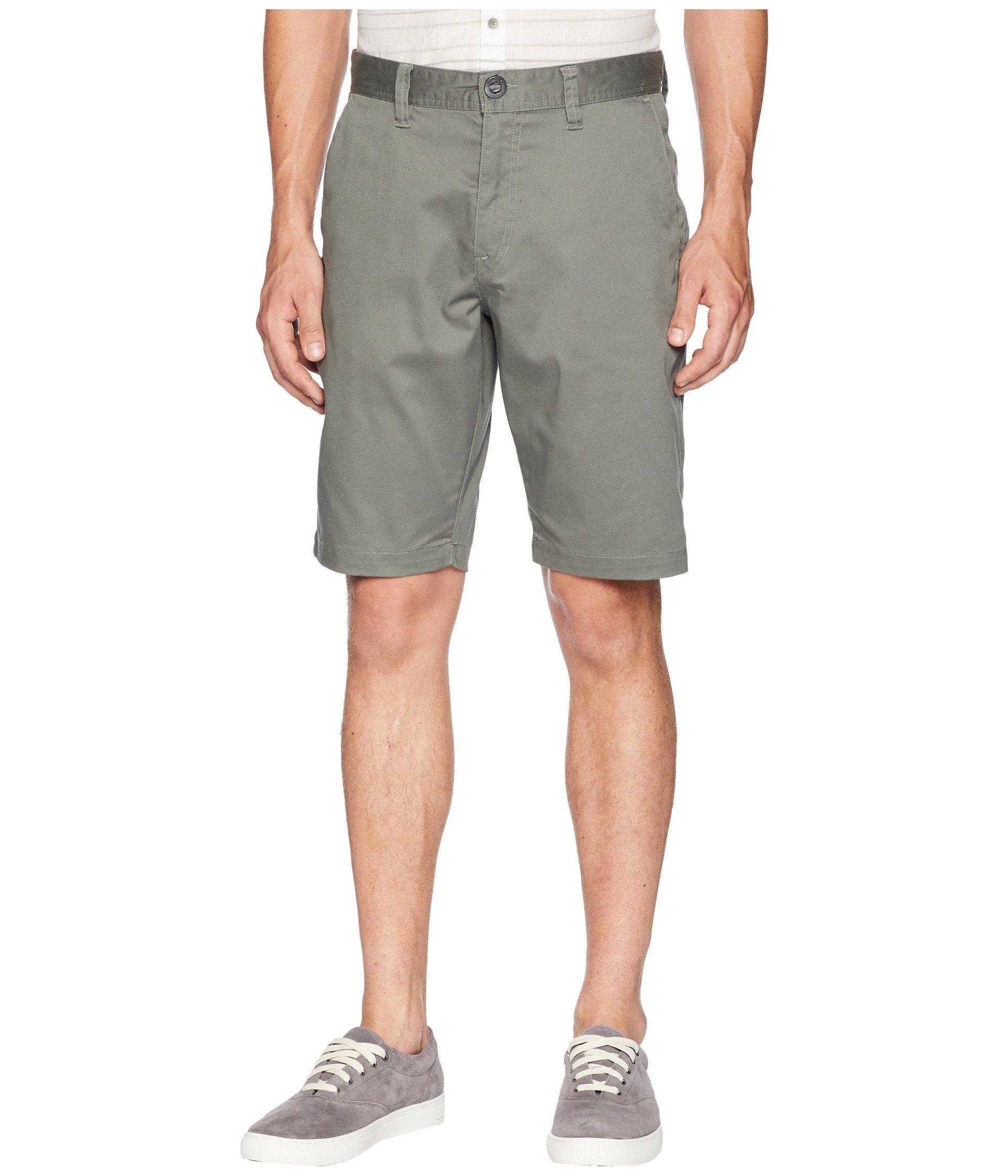 Shorts Stretch Zap Green Frickin Dusty Volcom Mod qZWzv6FBFw