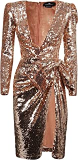 Elisabetta Franchi Luxury Fashion Womens AR38J97E2153 Pink Dress | Fall Winter 19