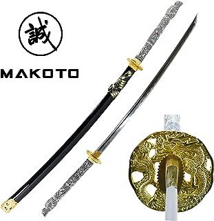 MAKOTO Handmade Sharp Katana Samurai Sword 42