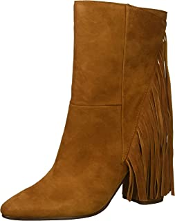 Dolce Vita Women's Rhoda Ankle Boot, BROWN SUEDE, 10 M US
