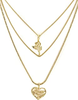 Vanessa Mooney Women's Cielo Rose & Amor Necklace