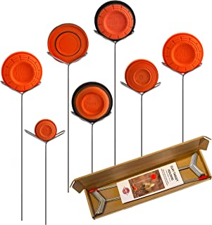 Clay Pigeon Target Holders Pack of 14 - Will Fit Any Clay Targets - Made in USA