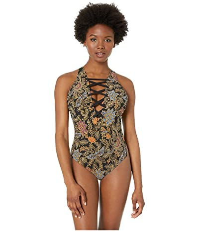 Miraclesuit Amoressa by Miraclesuit Indochine Stevie One-Piece (Black/Multi) Women