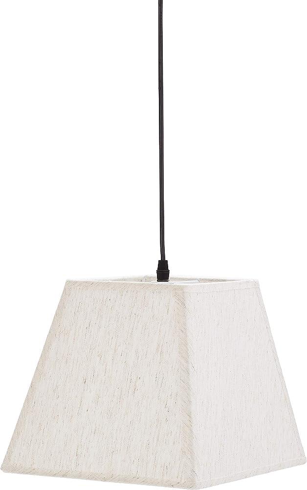 Umi by amazon, lampadario da soffitto a forma trapezoidale , in tessuto ALT181019