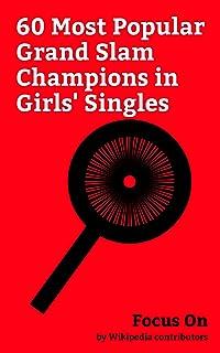 Focus On: 60 Most Popular Grand Slam Champions in Girls' Singles: Eugenie Bouchard, CoCo Vandeweghe, Mirjana Lučić-Baroni, Martina Hingis, Caroline Wozniacki, ... Victoria Azarenka, Simona Halep, etc.