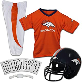 Franklin Sports Deluxe NFL-Style Youth Uniform – NFL Kids Helmet, Jersey, Pants,..