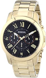 Grant Chronograph Stainless Steel Watch Gold-Tone