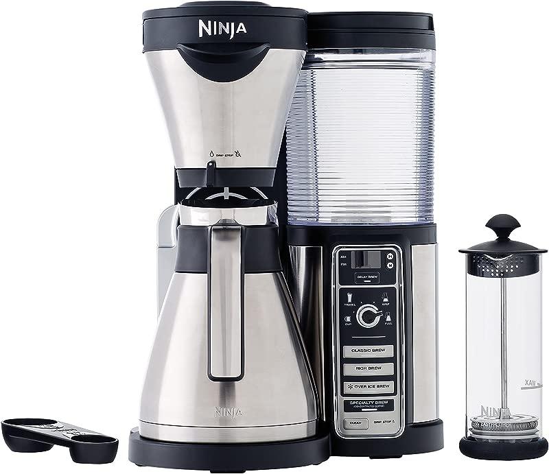 Ninja CF085REF Thermal Carafe Coffee Bar Renewed