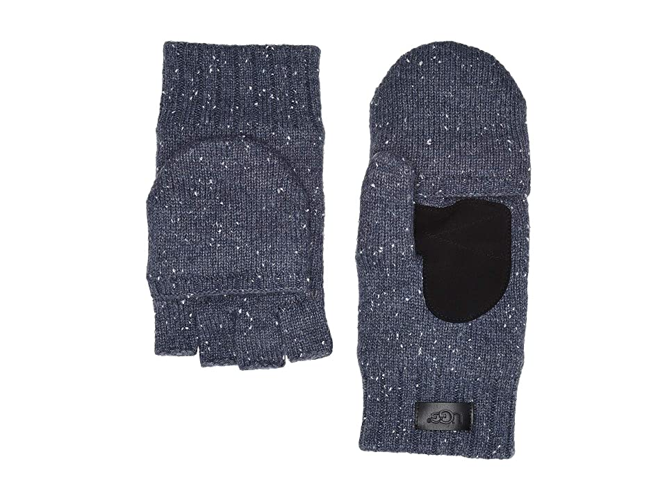 UGG Flip Knit Mitten (Oceanic Heather) Over-Mits Gloves