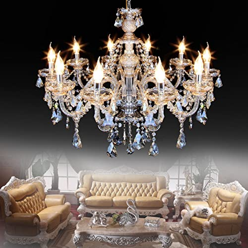Living Room Chandelier Lighting For High Ceiling Amazoncom