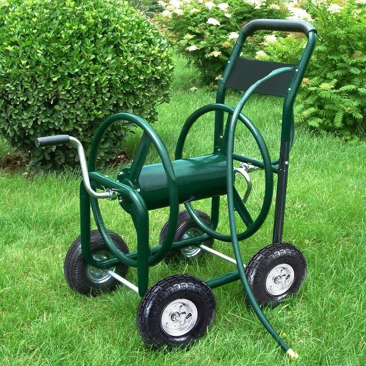 Popular popular 350 ft Garden Yard Water Planting service Reel Gar Cart Hose Home Lawn