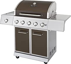 Dyna-Glo DGE Series Propane Grill, 5 quemadores, bronce