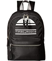 Marc Jacobs - Trek Pack Exaggerated Sport Logo Large Backpack