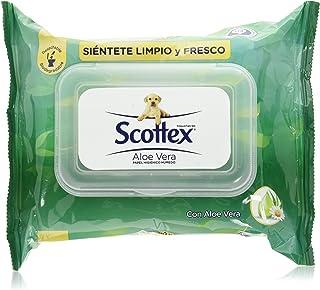 Scottex Sensitive Papel Higiénico con Aloe Vera - 12