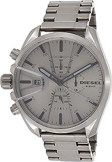 ساعة يد ديزل كوارتز كرونوغراف بحزام من الفولاذ المقاوم للصدأDZ4484