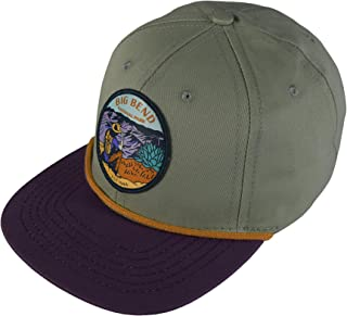 National Park Braided Rope Hat Snapback Collection