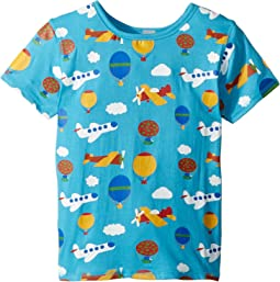 4Ward Clothing PBS KIDS® - Sky Pattern Reversible Tee (Toddler/Little Kids)