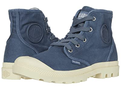 Palladium Pampa Hi (Blue Denim) Women