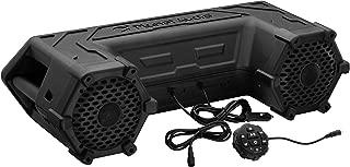 Planet Audio PATV65 ATV UTV Weatherproof Sound System - 6.5 Inch Speakers, 1.5 Inch Tweeters, Built-in Amplifier, Bluetooth