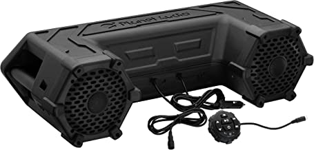 Planet Audio PATV65 ATV UTV Weatherproof Sound System - 6.5 Inch Speakers, 1.5 Inch Tweeters, Built-in Amplifier, Bluetooth