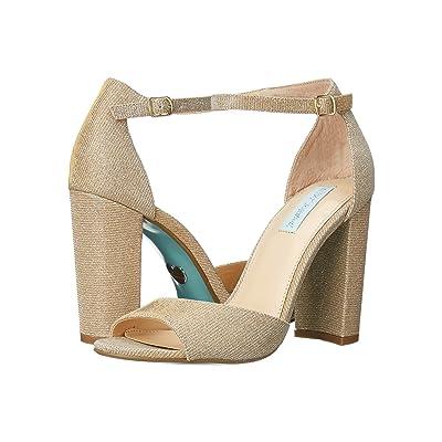 Betsey Johnson Carly (Gold) High Heels