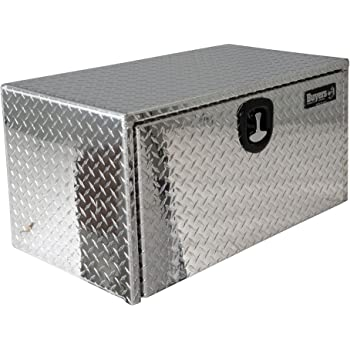 Buyers Products Diamond Tread Aluminum Underbody Truck Box w/ T-Handle Latch (14x12x30 Inch)