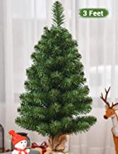 TIED RIBBONS Christmas Tree 3 Feet Christmas Decoration for Office School House Restaurants