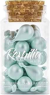 Aceite de queratina para el cabello | Hecho en Italia Sin Sulfato Serum Vitamina B5 y Aminoácidos para cabello seco y dañado de todo tipo | Reparación Acondicionadora profunda para mujeres y hombres | Anti encrespamiento Color seguro 30 cápsulas