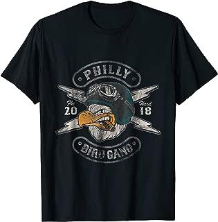 Bird Gang Eagles T-Shirt Vintage Distressed Tee