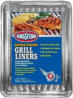 Best durable foil disposable grill topper Reviews
