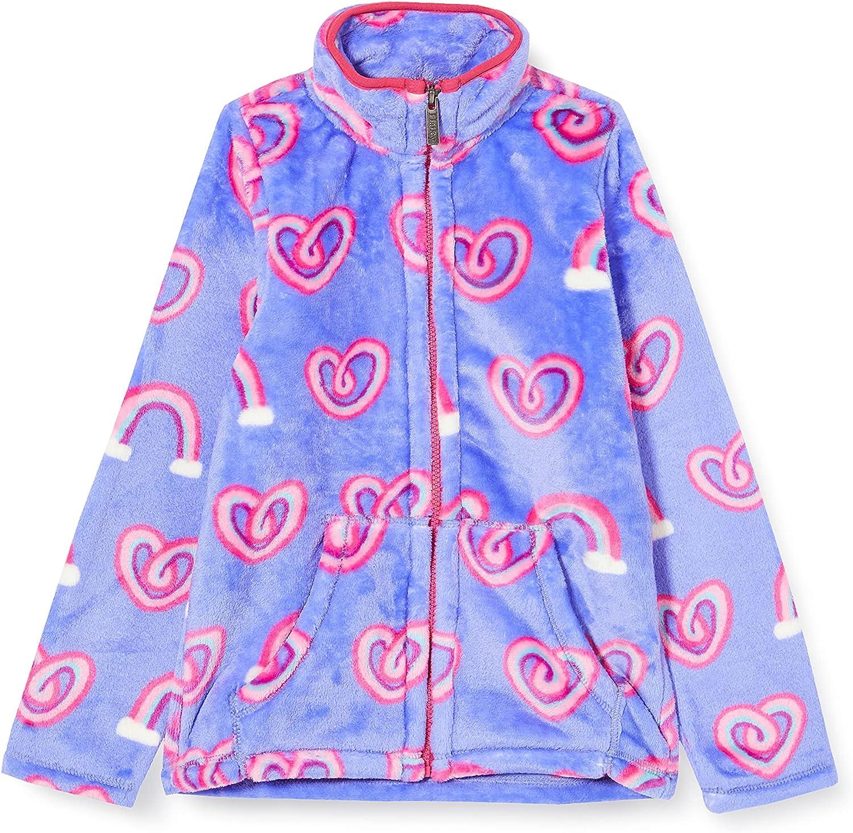 Hatley girls Fuzzy Baltimore Mall Fleece Jacket Free Shipping New
