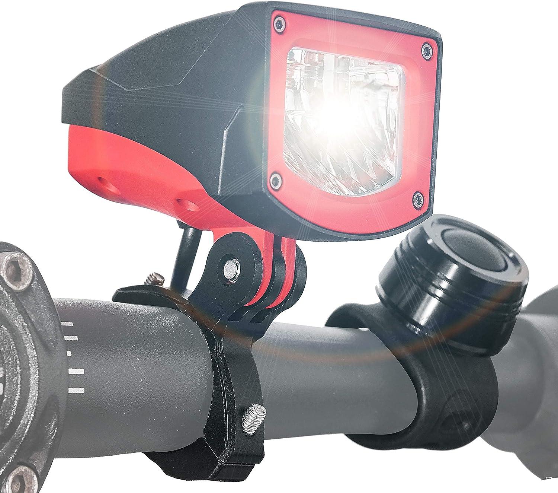 NOVSIGHT Bike Headlight with OFFer RF Lumens Recha New product Remote 1600 Control