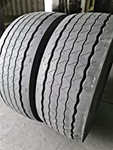 (2-Tires) 425/65R22.5 ROAD CREW GREEN VAN RADIAL 42565225 20 PLY ALL POSITIONS ONLY TO EAST COAST