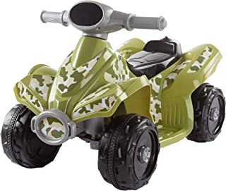 Lil' RiderRide-On Toy ATV –Battery Operated Electric 4-Wheeler for Toddlers with Included Battery Charger and Push Button Start (Green Camo)