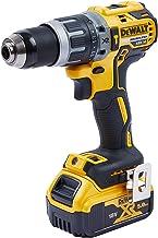 DEWALT DCD796P1-GB XR Brushless Compact Lithium-Ionen Kombi-Bohrer, gelb/schwarz, einheitsgröße