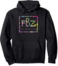 Flatbush Apparel Zombies Triangle Colorful Tie Dye Flowers Pullover Hoodie